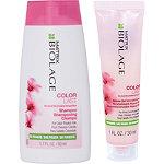 FREE Mini Colorlast Shampoo and Aqua Gel Conditioner Duo w%2Fany Matrix purchase