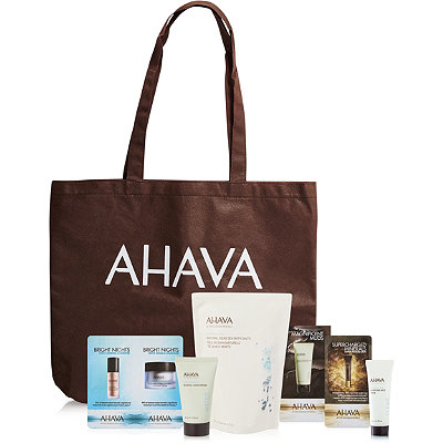 Online Only FREE deluxe 3 Pc Gift w/any $20 Ahava purchase