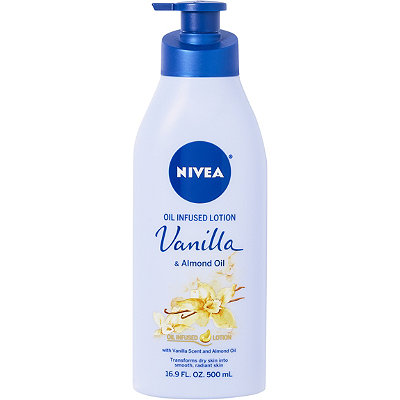NiveaOnline Only Oil Infused Lotion Vanilla %26 Almond Oil