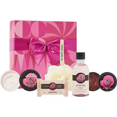 The Body ShopOnline Only British Rose Festive Picks
