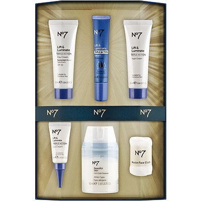 No7 Online Only The Perfect Lift%3A Lift %26 Luminate Set