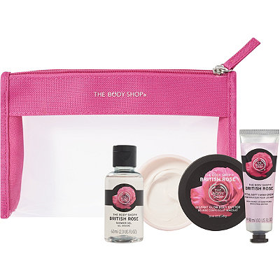 The Body ShopOnline Only British Rose Beauty Bag