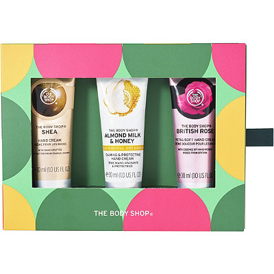 The Body Shop Online Only Handfuls Of Happiness Caring