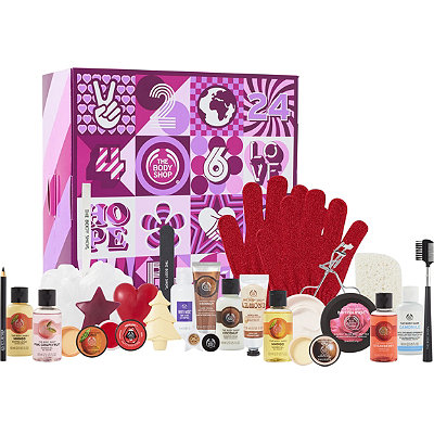 The Body ShopOnline Only 24 Days Of Beauty Advent Calendar