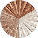Ofra Cosmetics Online Only Highlighter Godet Pan Large Ever Glow (frosty white, neutral shimmer, sun-kissed copper)