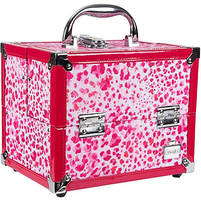Caboodles Leopard Adored Train Case