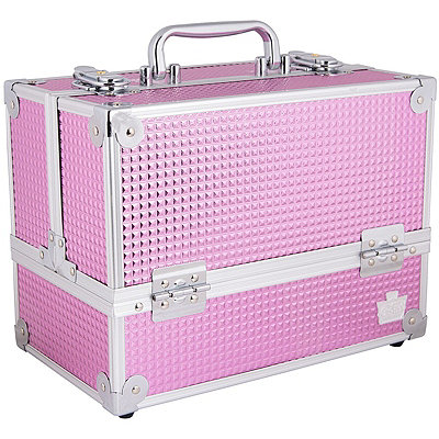 CaboodlesPink Bubble Stylist Train Case