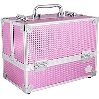 Pink Bubble Stylist Train Case by Caboodles