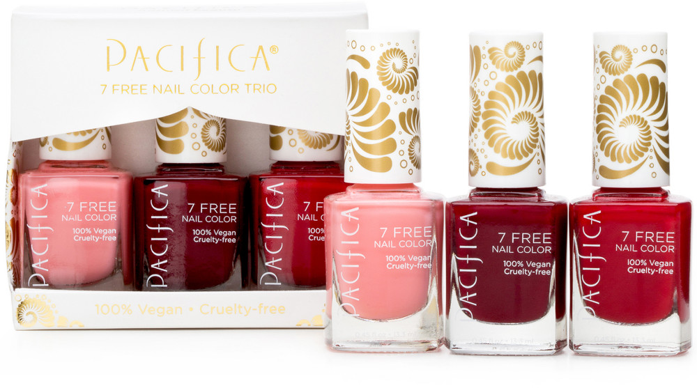 7 Free Red Nail Color Trio