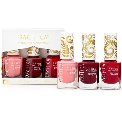 Pacifica7 Free Red Nail Color Trio