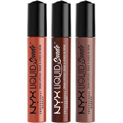 NYX Professional MakeupLiquid Suede Cream Lipstick Set