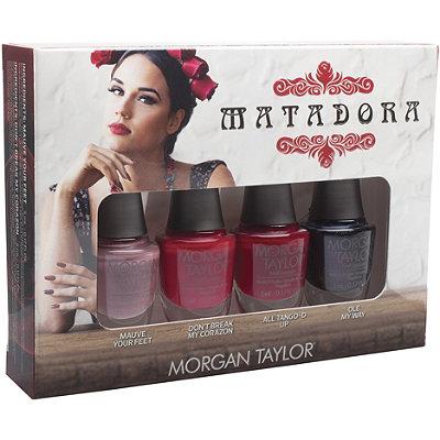 Morgan TaylorOnline Only Matadora Professional Mini 4 Pc Nail Lacquer Set