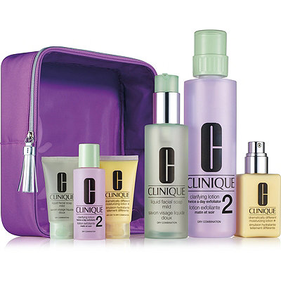 CliniqueGreat Skin Home and Away Set For Drier Skin