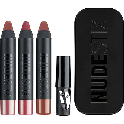 NUDESTIX Everyday Nudes 3 Pc Mini Lip Kit