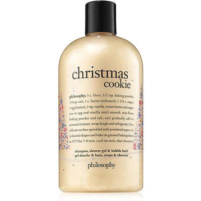 PhilosophyChristmas Cookie Shampoo%2C Shower Gel %26 Bubble Bath