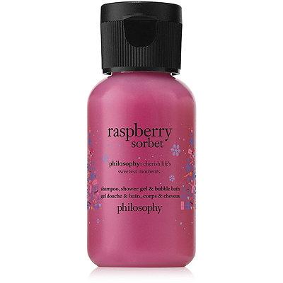 PhilosophyLimited Edition Raspberry Sorbet Shampoo%2C Shower Gel %26 Bubble Bath