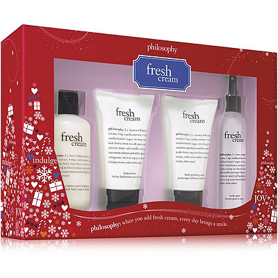 Philosophy Fresh Cream 4 Pc Set