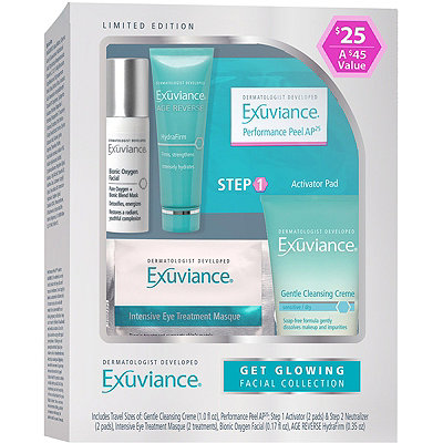 Exuviance Get Glowing Facial Collection