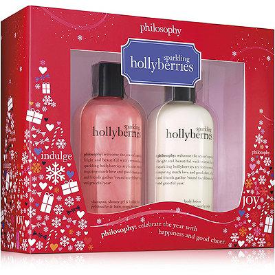 PhilosophySparkling Hollyberries Duo Set
