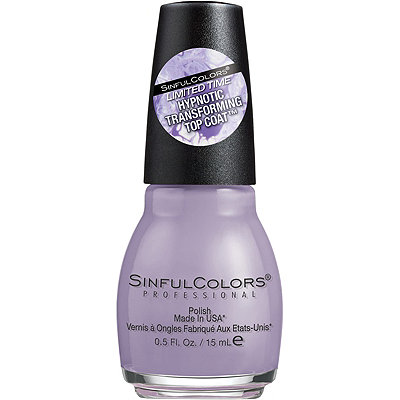 Sinful Colors Limited Edition Hypnotic Transforming Top Coat