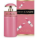 Online Only FREE Candy Gloss Deluxe Miniature w%2Fany large spray purchase from the Prada Candy fragrance collection
