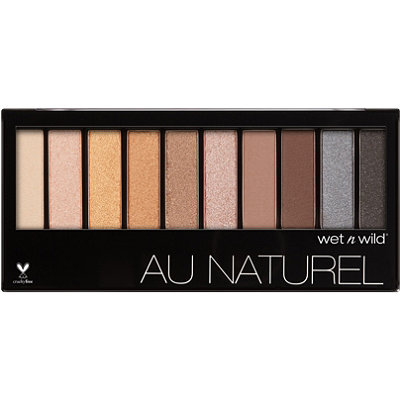 Wet n Wild Online Only Bare Necessities Color Icon Au Naturel 10-Pan Eyeshadow Palette