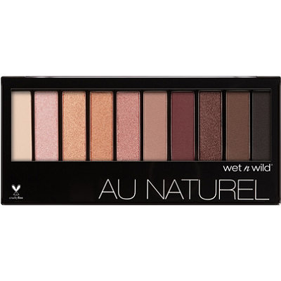 Wet n WildOnline Only Nude Awakening Color Icon Au Naturel 10-Pan Eyeshadow Palette