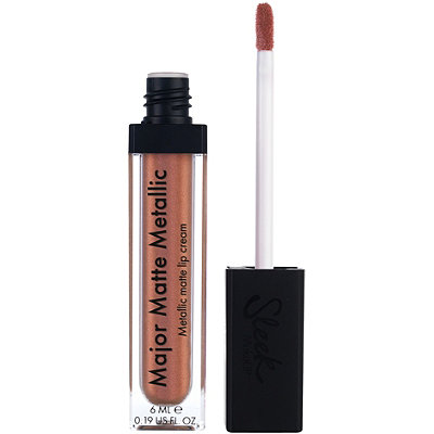 Sleek MakeUPMajor Matte Metallic Lip Cream