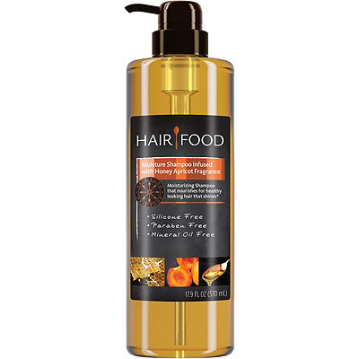 Hair Food Hair Food Moisture Shampoo Infused With Honey Apricot Fragrance