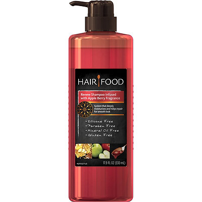 Hair FoodHair Food Renew Shampoo Infused with Apple Berry Fragrance