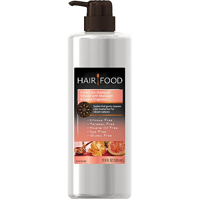 Hair Food Hair Food Gluten Free Color Care Shampoo Infused with Mandarin %26 Guava Fragrance