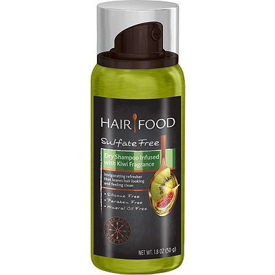 Hair FoodTravel Size Hair Food Sulfate Free Dry Shampoo Infused with Kiwi Fragrance