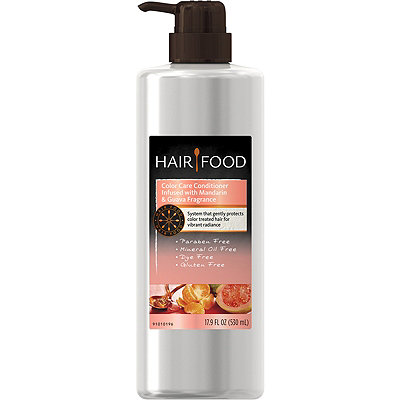 Hair Food Gluten Free Color Care Conditioner Infused with Mandarin & Guava Fragrance
