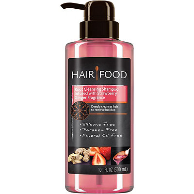 Hair FoodHair Food Root Cleansing Shampoo Infused With Strawberry Ginger Fragrance