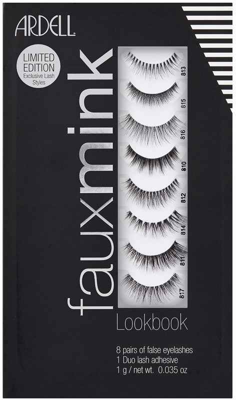 Ardell Faux Mink Lash Lookbook 8 Pairs + Duo Glue (Gift Set)