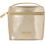 Online Only%21 FREE Golden Shimmer Cosmetic Case w%2Fany %24105 purchase from the Michael Kors Sexy Amber Fragrance Collection