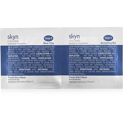 Online Only! FREE deluxe sample Fresh Start Mask with any $49 Skyn Iceland purchase