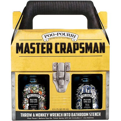 Poo~PourriMaster Crapsman Gift Set