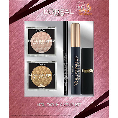 L'Oréal Holiday Makeup Kit