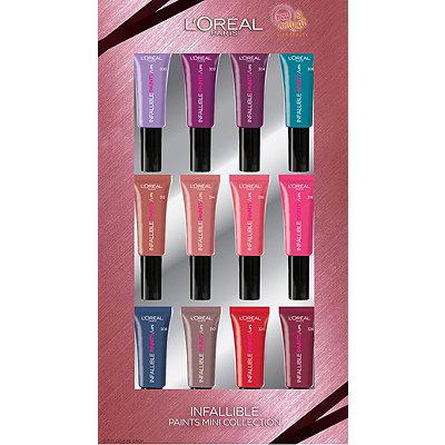 L'OréalInfallible Paints Lip Mini Collection