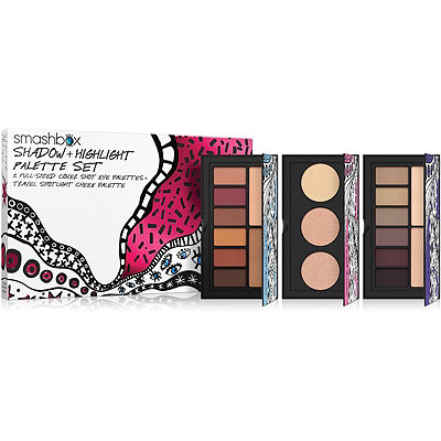 SmashboxDrawn In. Decked Out. Shadow %2B Highlight Palette Set