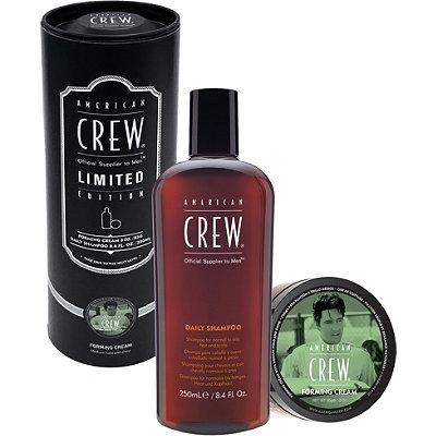 American CrewLimited Edition Forming Cream Duo Tin