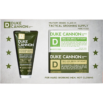 Duke Cannon Supply Co Tactical Shower %26 Shave Gift Set