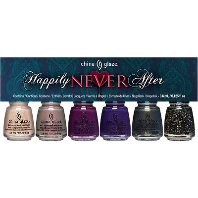 China Glaze Online Only Happily Never After 6 Pc Micro Mini Kit