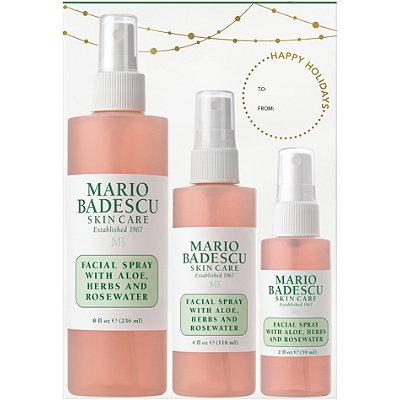Mario BadescuHome %26 Away Facial Spray with Aloe%2C Herbs%2C and Rosewater Trio
