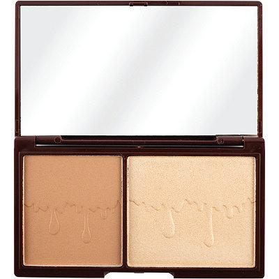 Mini Chocolate, Bronze & Glow, Powder Bronzer & Highlighter Duo