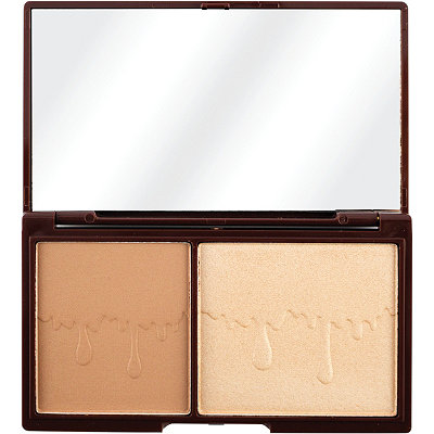 Makeup RevolutionMini Chocolate, Bronze & Glow, Powder Bronzer & Highlighter Duo