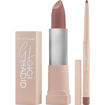 MaybellineGigi Hadid East Coast Glam Lipstick and Lip Liner Kit