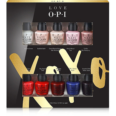 OPI Love OPI XOXO 10 Pc Mini Set