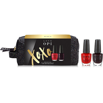OPI Love OPI XOXO Nail Lacquer Duo w%2F Cosmetic Bag